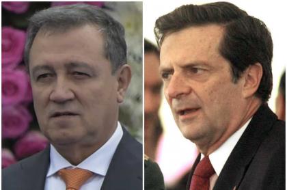 Ernesto Macías ataca a Fernando Londoño por criticar a Mindefensa