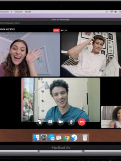 Facebook Live en Messenger Rooms