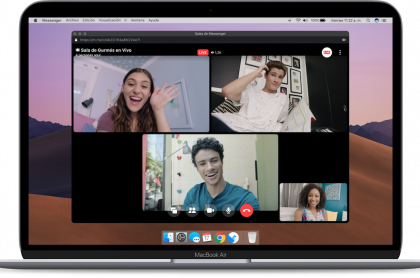Facebook Live en Messenger Rooms