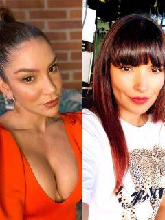 Valentina Lizcano y Margarita Reyes