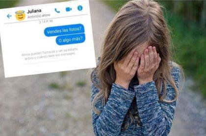 Denuncian que madre ofrecía a su niña por Facebook