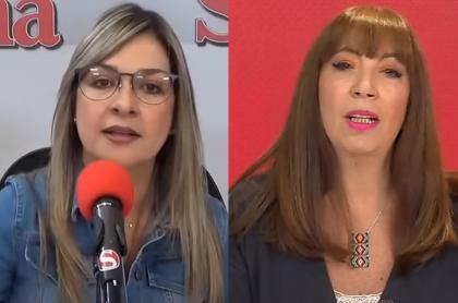 Vicky Dávila y María Jimena Duzán