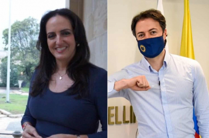 María Fernanda Cabal y Daniel Quintero