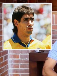 Andrés Escobar, futbolista colombiano asesinado en 1994 / Víctor Hugo Aristizábal, exfutbolista colombiano.