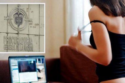Procuraduría General de la Nación / Modelo webcam.