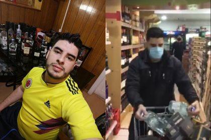Aparece colombiano que dejó sin licor a supermercado chileno