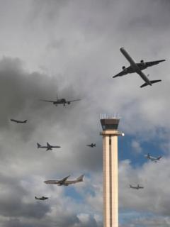 Tráfico aéreo demorará hasta 2024 para volver a nivel normal