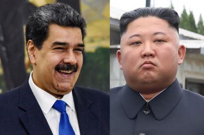 Nicolás Maduro y Kim Jong-un