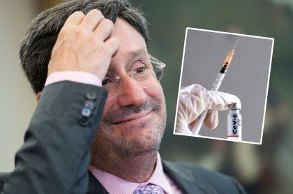 'Pacho' Santos dice que Colombia podría tener 5 vacunas contra el coronavirus