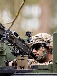 Miles de soldados de EE. UU. salen de Alemania.