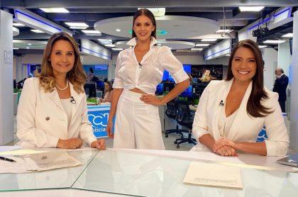 Inés María Zabaraín, Sandra Bohórquez y Jessica de la Peña