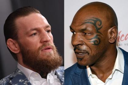 Conor McGregor y Mike Tyson