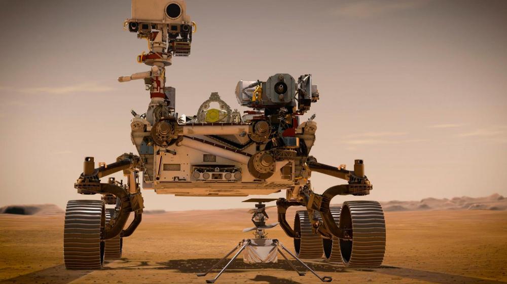 Este rover está diseñado para actuar como un astrobiólogo, estudiará un lago con más de 3.000 años de antiguedad.