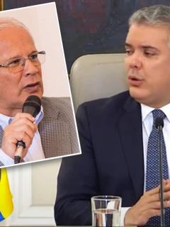 Juan Carlos López e Ivan Duque