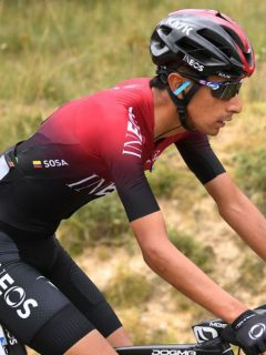 Iván Ramiro Sosa ganó este sábado la etapa reina del Tour de La Provence, mientras que Egan Bernal fue segundo.