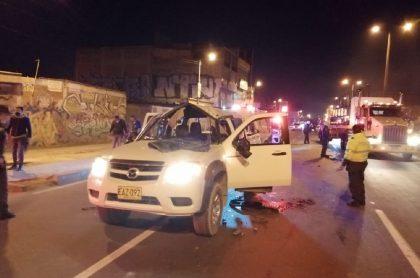 Capturan a culpables de atentado a camioneta.