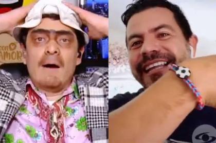 'Suso' y 'Píter Albeiro'