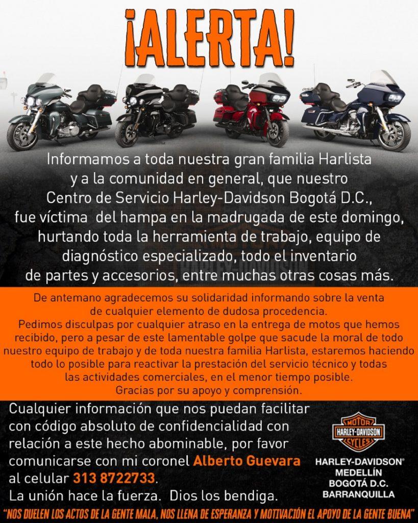 Tienda de Harley Davidson.