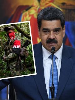 Colombia pide explicaciones a Venezuela por guerrillero que juró lealtad a Nicolás Maduro