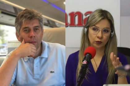 Daniel Coronell y Vicky Dávila
