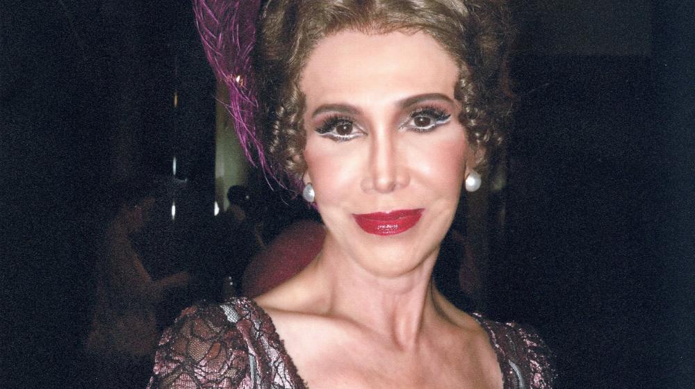 Doña florinda a sus 71 años