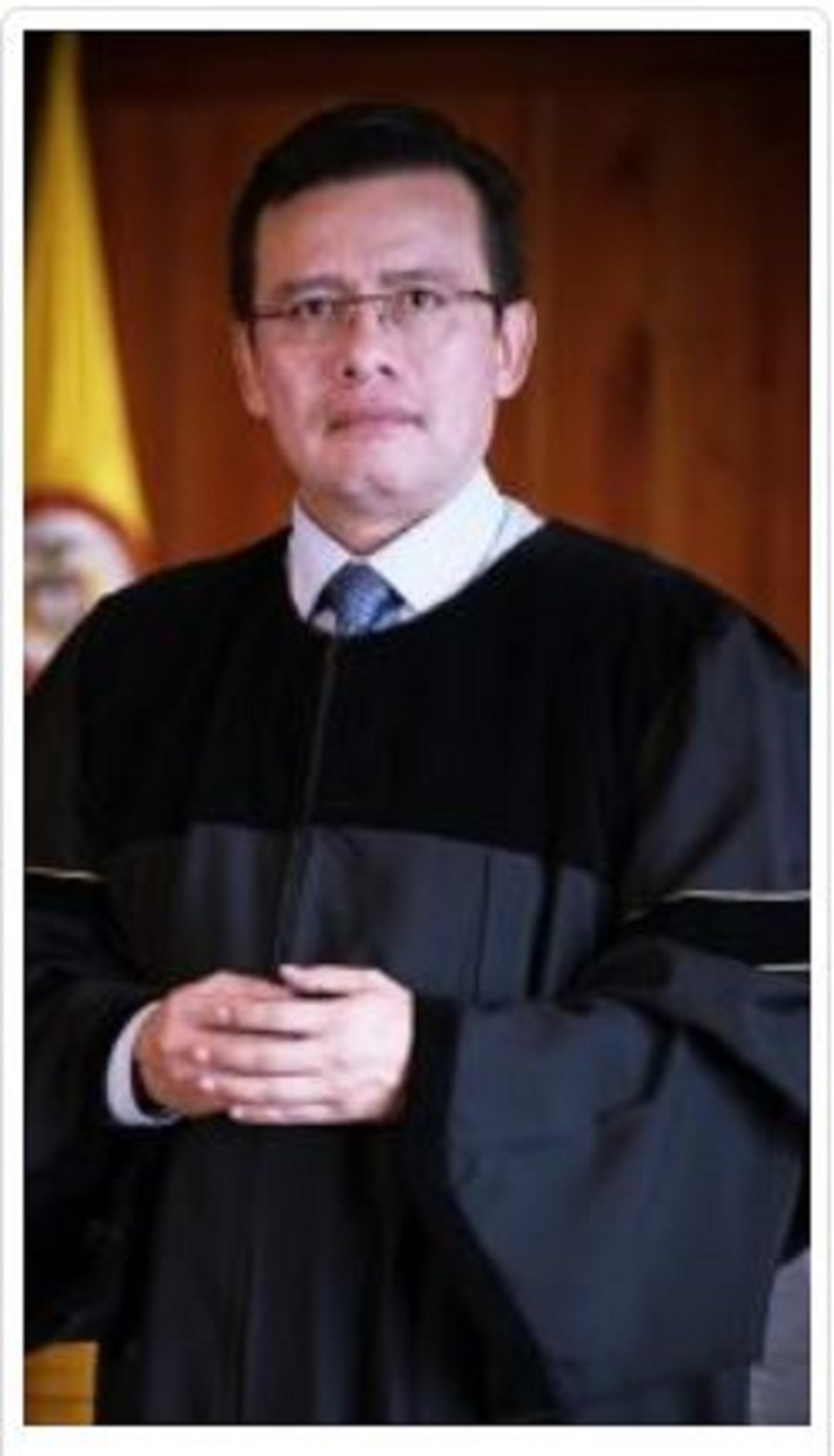 El magistrado Misael Fernando Rodríguez es abogado especialista en derecho penal y cuenta con más de 26 años de experiencia en la Rama Judicial. Fue el que lideró la investigación contra el exministro Andrés Felipe Arias.
