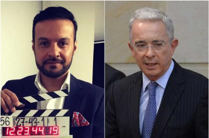 Julián Román y Álvaro Uribe