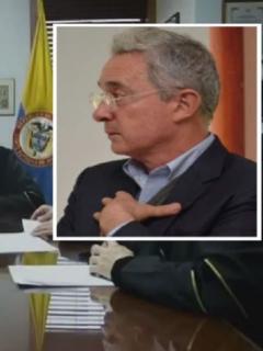 Magistrados de la Corte que llevan el caso Uribe