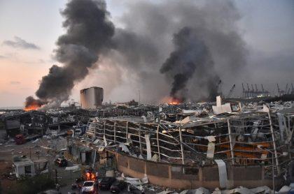 Explosión en puerto de Beirut también tumbó al gobierno de Líbano