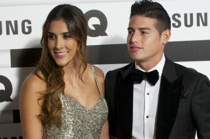 Baile de hija de James Rodríguez y Daniela Ospina con su prima.