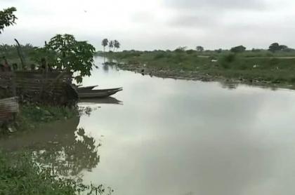Rescatan cuerpo de niño de 7 años que fue arrastrado por arroyo en Soledad, Atlántico