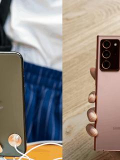 iPhone 11 Pro Max vs. Samsung Galaxy Note 20 Ultra