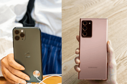 iPhone 11 Pro Max vs. Samsung Galaxy Note 20 Ultra