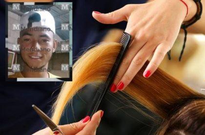 Asesinan a joven que estaba en peluquería en Sucre