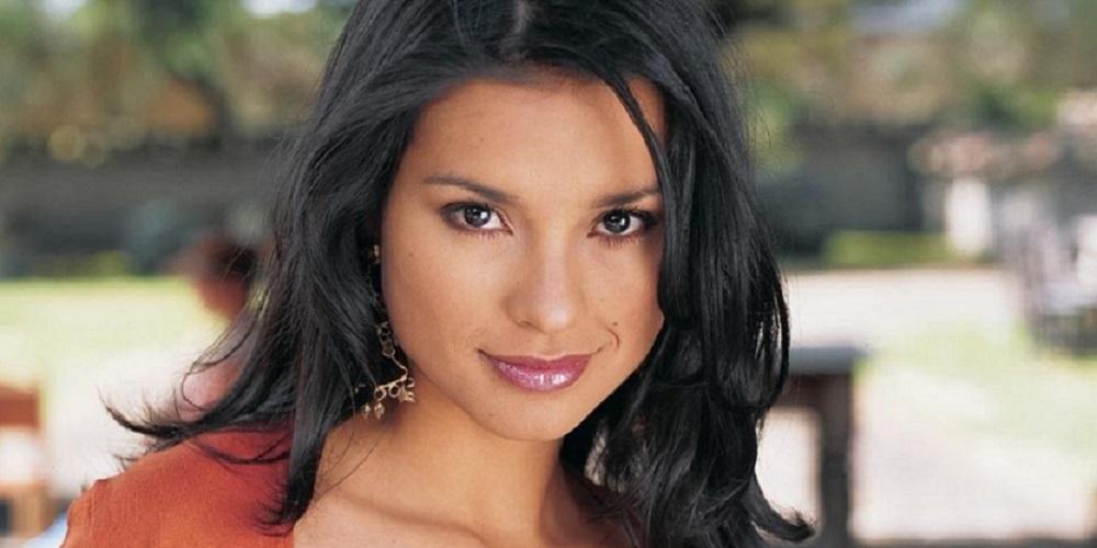 Paola Rey, tímida.