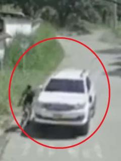Ciclista arrollado por conductor no fue atendido por Soat