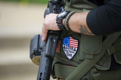 Miembro de la NRA en Estados Unidos