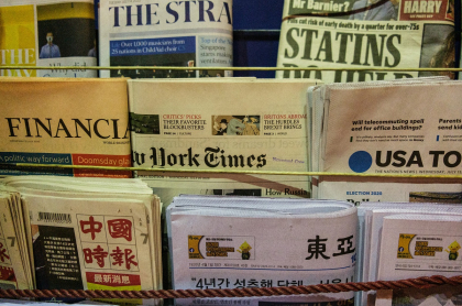 Experta dice que coronavirus afectó a periódicos impresos