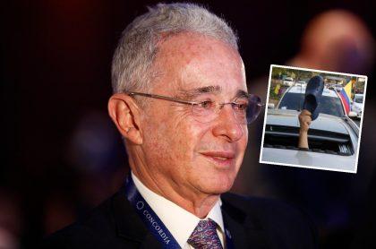 Uribistas sacan zapatos crocs para defender a Álvaro Uribe Vélez