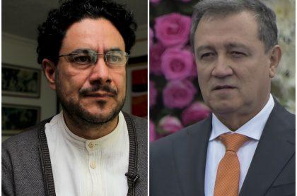 """Iván Cepeda dice que tomará acciones contra Iván Duque y Ernesto Macías llama al senador """"fanfarrón"""""""