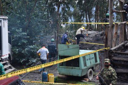 Mineros en Boyacá cumplen 4 días atrapados