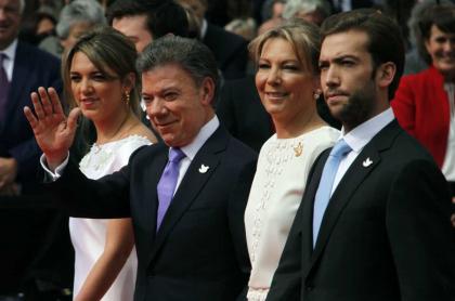 María Antonia, Juan Manuel. 'Tutina' y Martín Santos