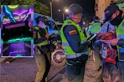 Fiestas en Cali y multas de Policía
