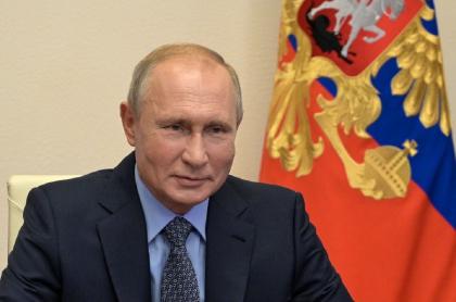 Vladimir Putin, presidente de Rusia, en el Kremlin.