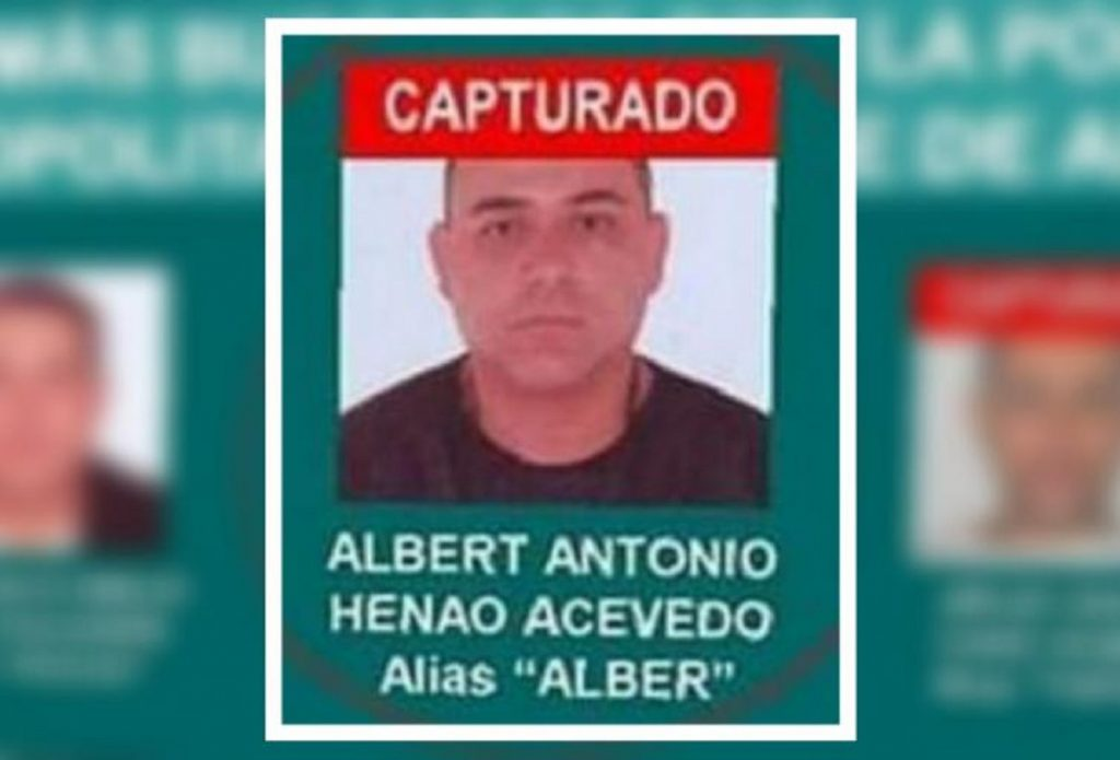 Policía Nacional / Alberto Henao, alias 'Alber'