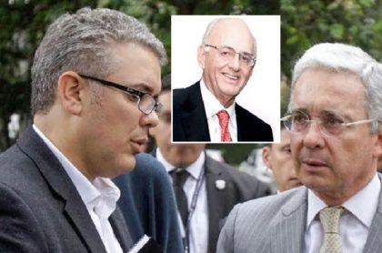 Encuentro de Uribe y Cisneros en campaña Duque