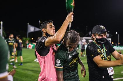 Yimmi Chará, campeón con los Timbers de Portland de la MLS