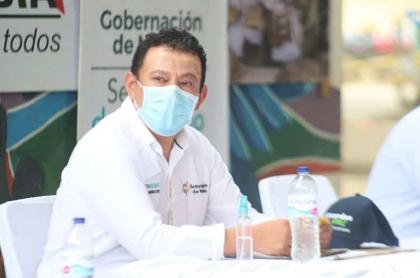 Jhon Rojas,  gobernador de Nariño, tiene coronavirus