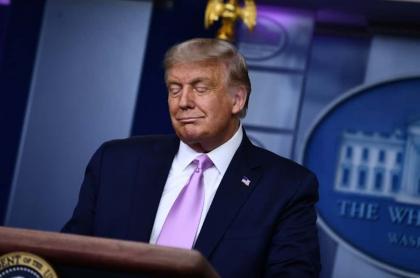 "Donald Trump anunció en rueda de prensa una vacuna contra coronavirus  ""pronto"""