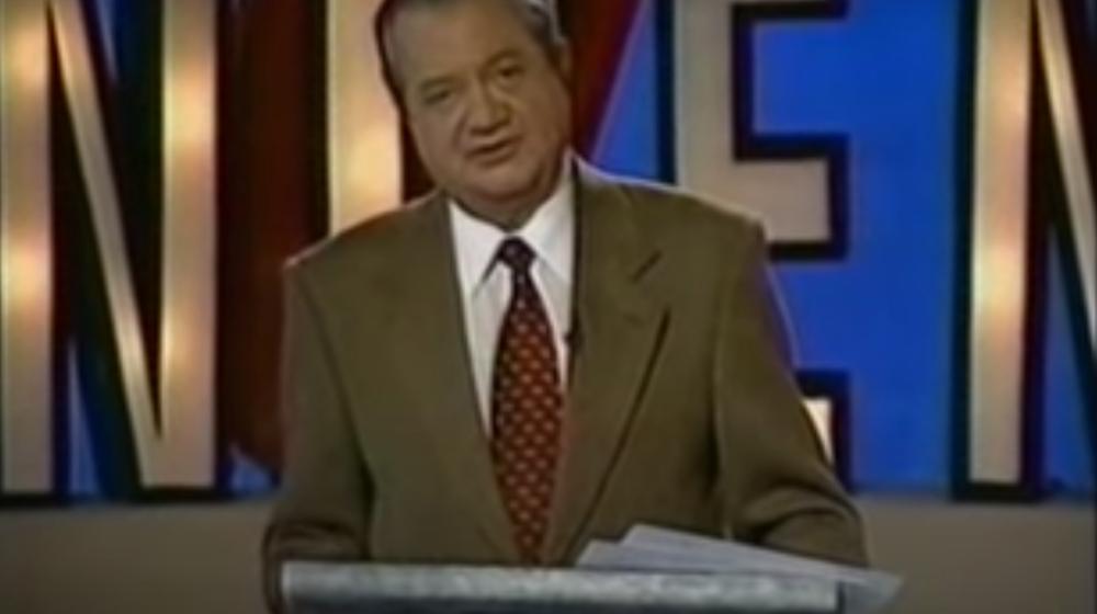 Julio Sánchez Vanegas en el programa 'Concéntrese' -1986